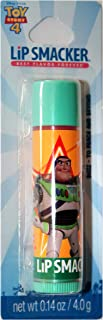 product image for Lip Smackers (1) Lip Balm Stick Best Flavor Forever - Disney Pixar Toy Story 4 Buzz Lightyear - to Peach and Beyond Flavor - Carded - Net Wt. 0.14 oz