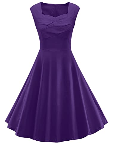 V Fashion Women's 50s Retro Ca...