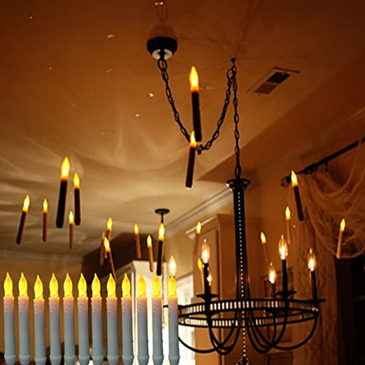 Amazon.com: VVMOM Velas sin llama para ventana, luces LED ...