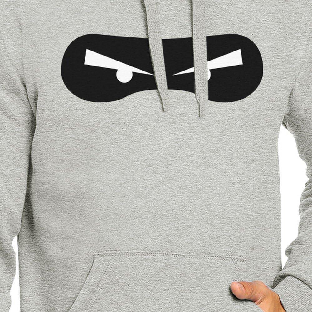 Ninja Eyes Grey Hooded Sweatshirts Unisex Pullover Hoodie Gifts
