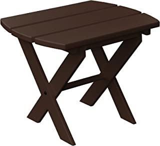 product image for Poly Folding End Table - Tudor Brown