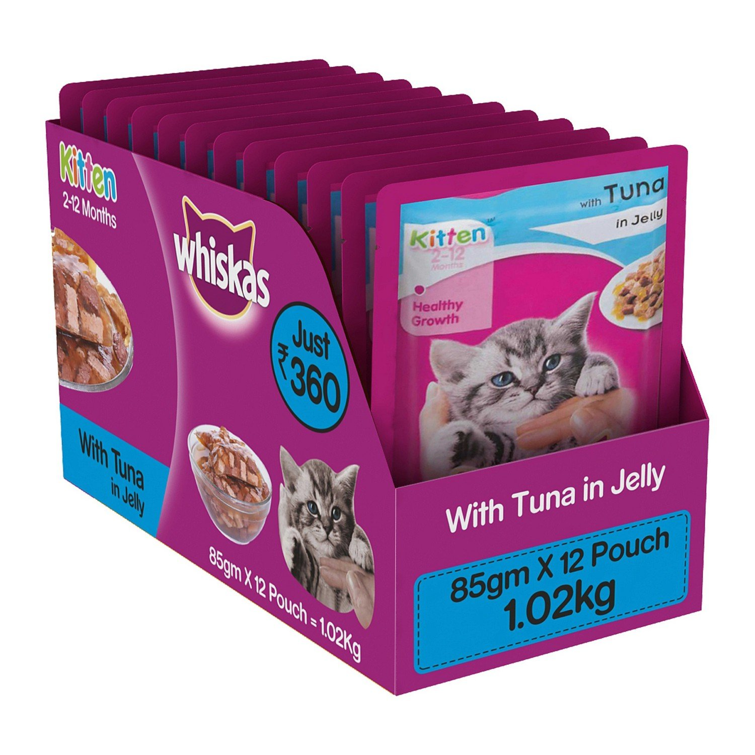 Whiskas Wet Meal cat food
