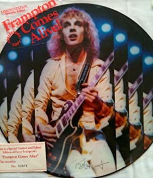 Frampton Comes Alive Limited Edition Collectors Copy Picture Disc