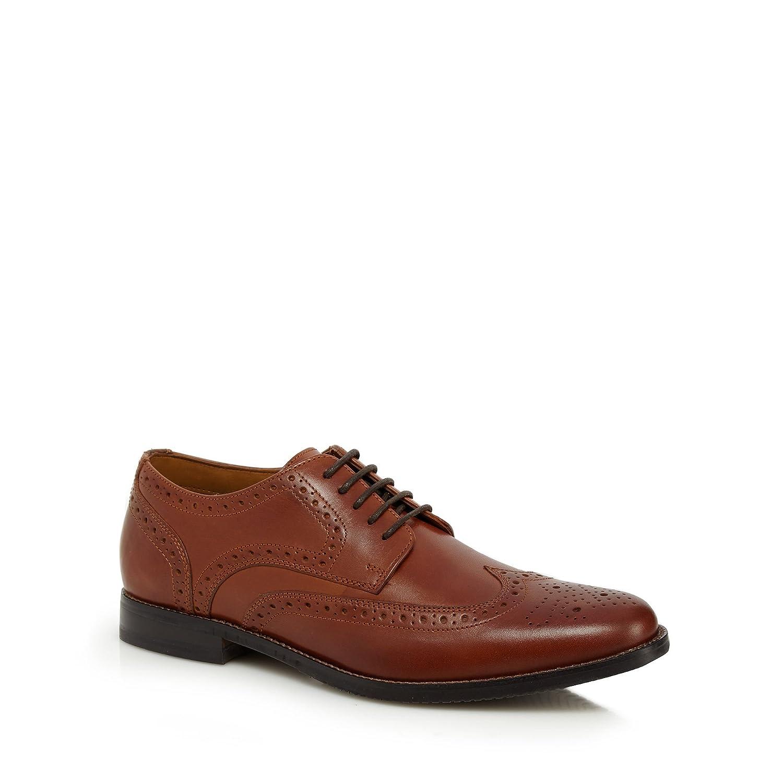 discount hot sale cheap sale shop offer Tan leather 'Wallace' brogues wholesale online websites online footaction cheap online Lfe9MQ