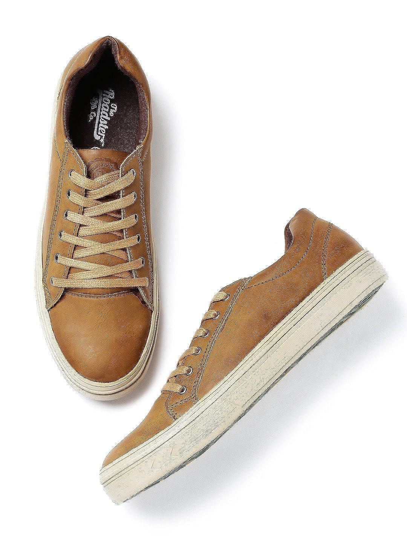 Buy Roadster Men Tan Brown Casual Shoes