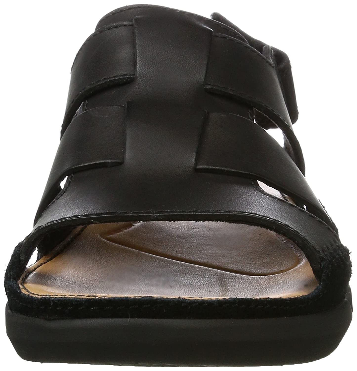 730d0ab0caff Clarks Men s Trisand Bay Sandals Black  Amazon.co.uk  Shoes   Bags