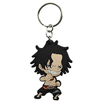 ABYstyle - One Piece Llavero PVC - Ace, abykey207: Amazon.es ...