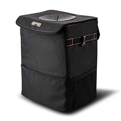 BOLTLINK Car Trash Can With Lid
