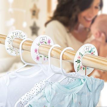 Amazon.com: Baby Closet - Juego de 6 organizadores de ...