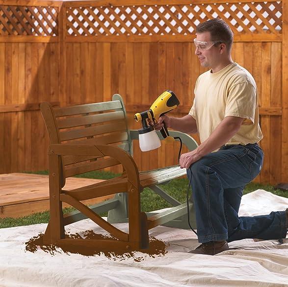 Wagner 0518050 Control Spray Double Duty Paint Sprayer Part - 34: Wagner 0417005 HVLP Control Spray Sprayer - Auto Body Spray Guns -  Amazon.com