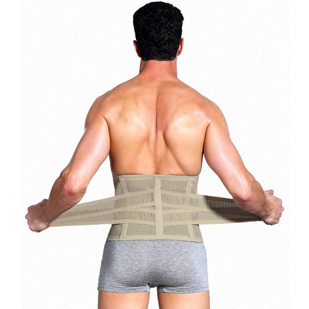 Herren Taillentrimmer-Trainingsg/ürtel Fitness Slimmer-G/ürtel f/ür Gewichtsverlust f/ür M/änner