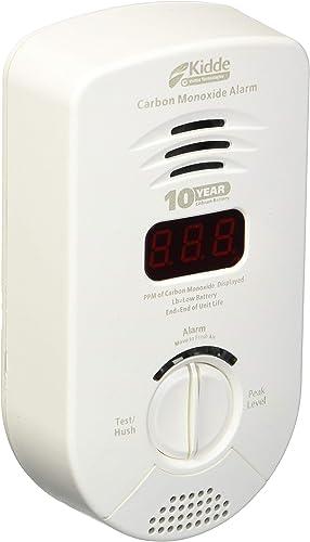 Kidde PLC 21026359 AC Powered Plug In Carbon Monoxide Alarm