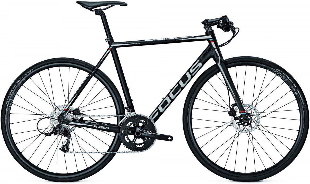 Cross Rueda/Fitness Bike Focus arriba Disc Apex 20 g 28 , color Magicblackmatt, tamaño 48, tamaño de rueda 28.00 inches: Amazon.es: Deportes y aire libre