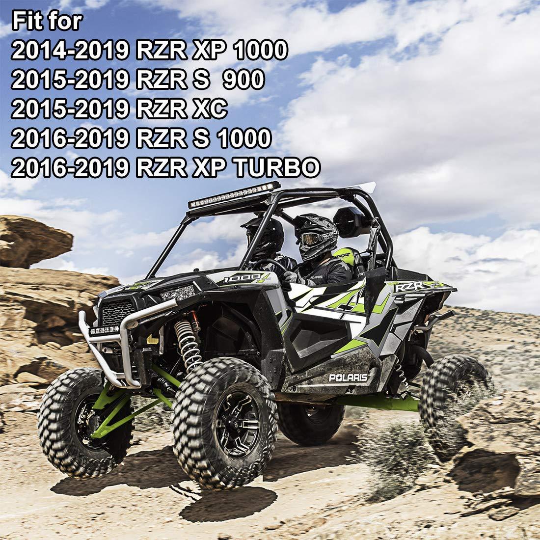 Kiwi Master tirador de puerta para paneles para Polaris RZR S 900 XP 1000 Turbo: Amazon.es: Coche y moto
