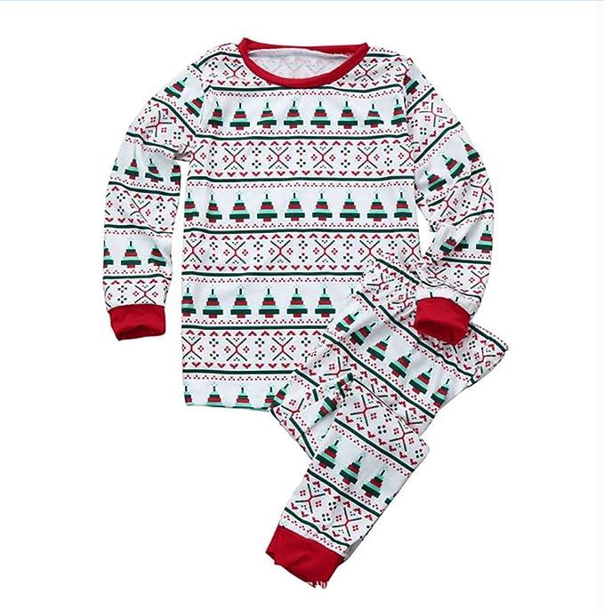 Familia Pijama a Juego Ropa - Pantalones Mamá Papá de Los Niños del Bebé de Dormir