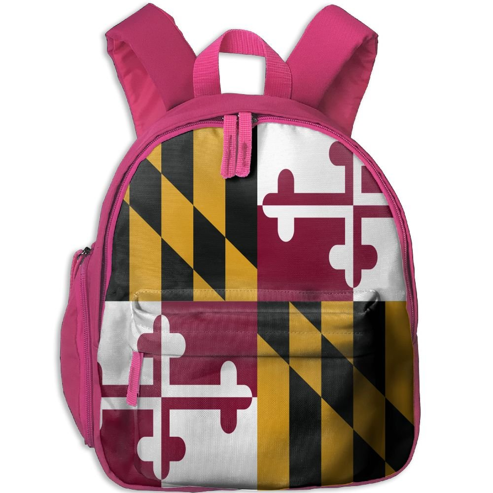 4f6744f18d9c good KEPan Outdoor Flag Of Maryland Kids Snack Backpack School Book Bags  Gift For Toodle Teen