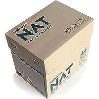 LEDESMA NAT:100% residuo de caña de azúcar, sin árboles, compostable, biodegradable. Impresión laser e inkjet DIN A4-75…