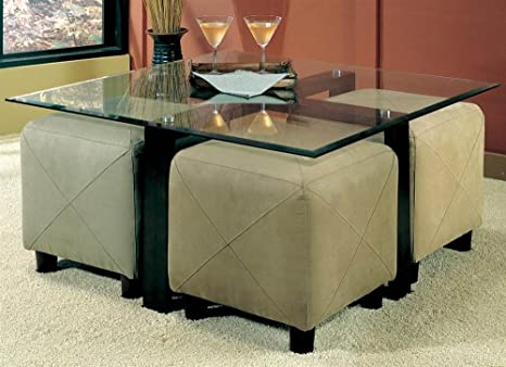 Glass Ottoman Coffee Table 3