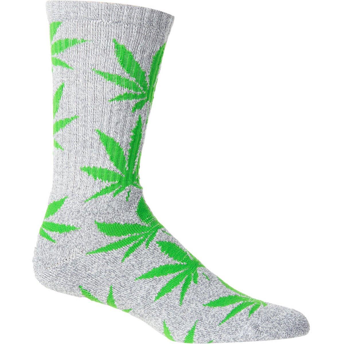 Huf Unisex Plantlife Leaf Weed High Socks Free Next Day Delivery Various Designs