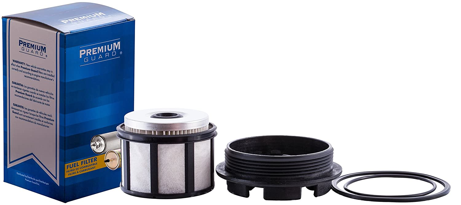 PG DF8629 Diesel Fuel Filter | Fits 2003 Ford E-350 Club Wagon, 1998 E-350 Econoline, 1998-02 E-350 Econoline Club Wagon, 1999-03 E-350 Super Duty, ...