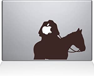 "The Decal Guru Headless Horseman MacBook Decal Vinyl Sticker - 15"" MacBook Pro (2015 & Older) - Brown (1080-MAC-15P-BRO)"