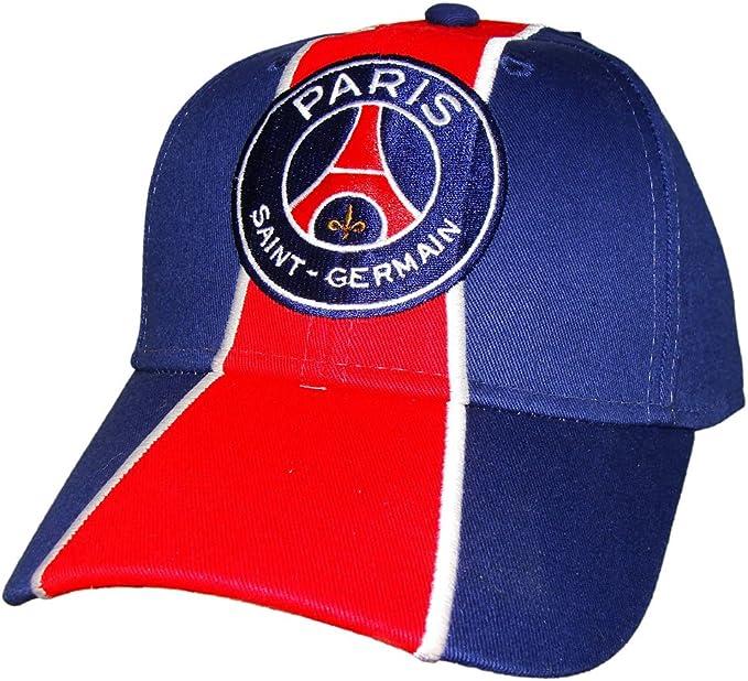 Psg Official Paris Saint Germain Cap Blue Red Amazon Ca Clothing Accessories