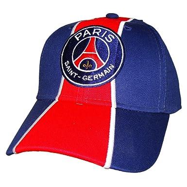 PSG - Official Paris Saint-Germain Men s Cap - Adjustable size - Color    Blue ce92de47418