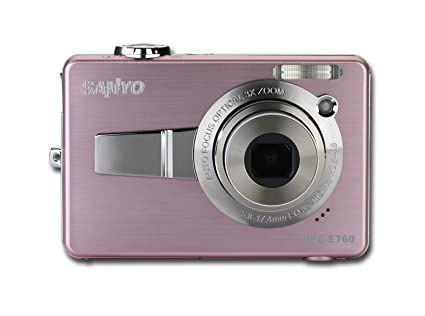amazon com sanyo e760 7 1mp digital camera with 3x optical zoom rh amazon com