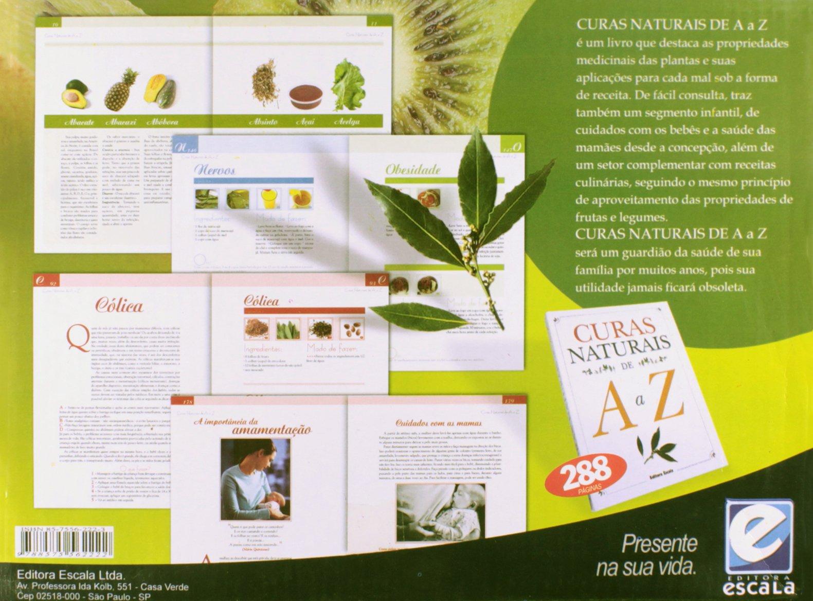 824079cf3081a Curas Naturais De A A Z (Em Portuguese do Brasil)  Marcelo Almeida   9788575562222  Amazon.com  Books