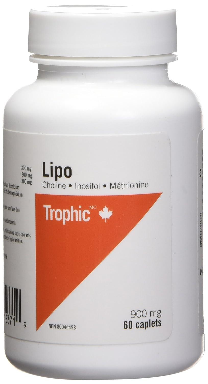 fca0b9551 Trophic Tri-Lipotropic (Choline-Inositol-Methionine), 60 Count: Amazon.ca:  Health & Personal Care