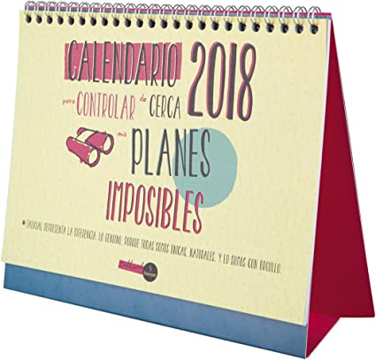 Finocam Talkual - Calendario de sobremesa 2018, español, 210 x 150 ...