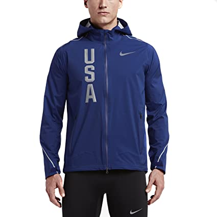 a22f4b56ec53 Amazon.com   Nike Men s Team USA Hyper Shield Full Zip Jacket (X ...