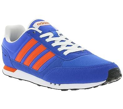 new design official supplier lace up in adidas Neo City Racer Schuhe Herren Sneaker Turnschuhe Blau ...