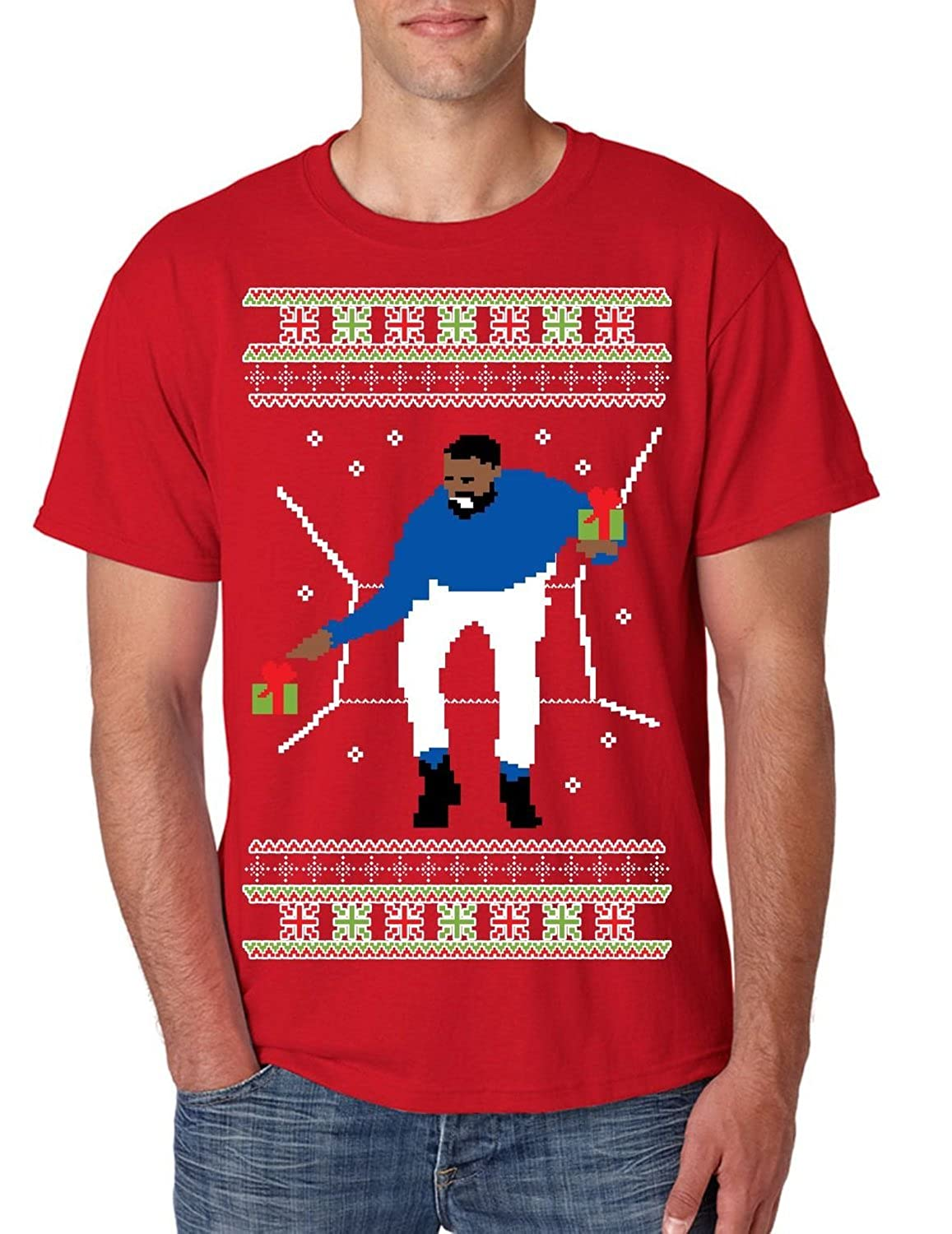 Allntrends Men's T Shirt 1-800 Hotline Bling Ugly Christmas Sweater