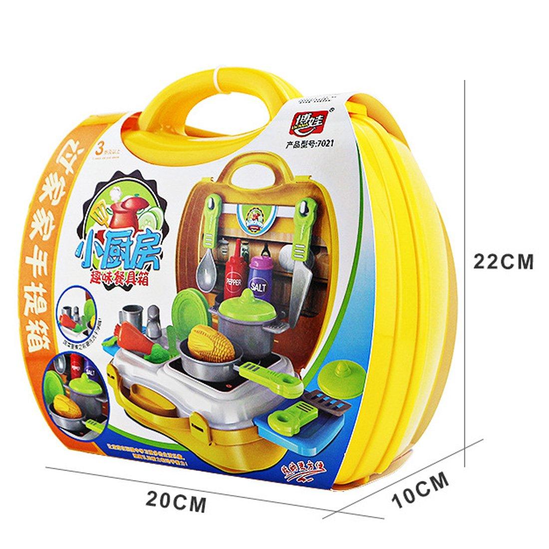 Juguete de Cocina para Niñas, JIMS STORE Cocina Juguetes 26 piezas Juegos de rol para niños: Amazon.es: Juguetes y juegos