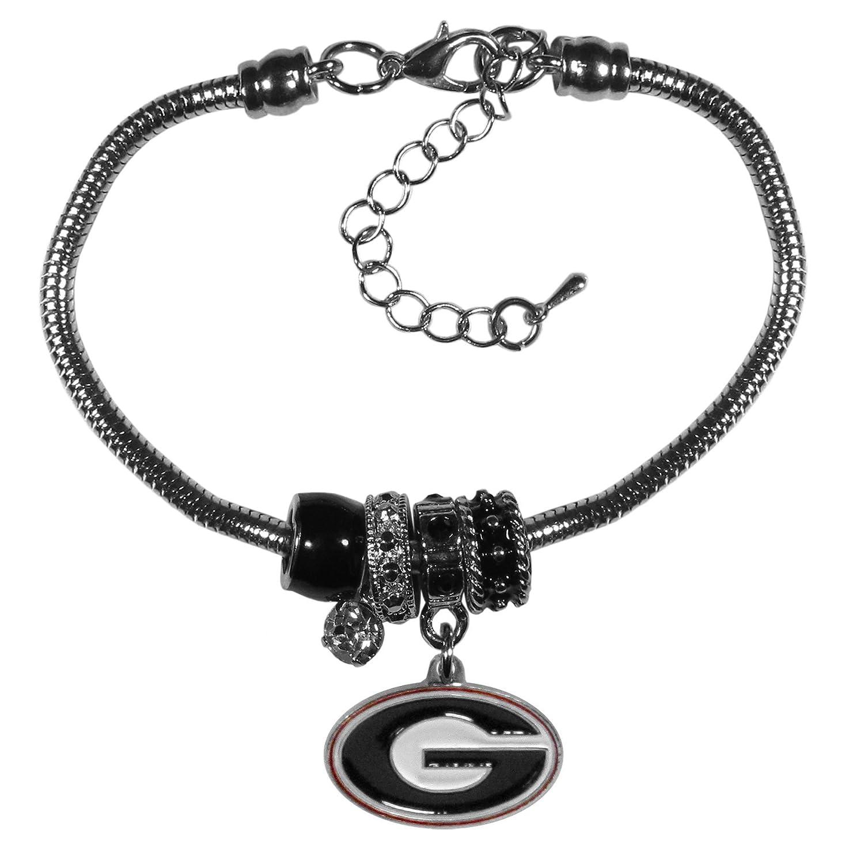 7.5-Inch Siskiyou Sports NCAA Georgia Bulldogs Charm Chain Bracelets