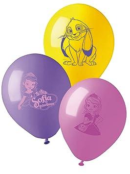 COOLMP - Lote de 12 Globos de látex de Princesa Sofía, 28 cm ...