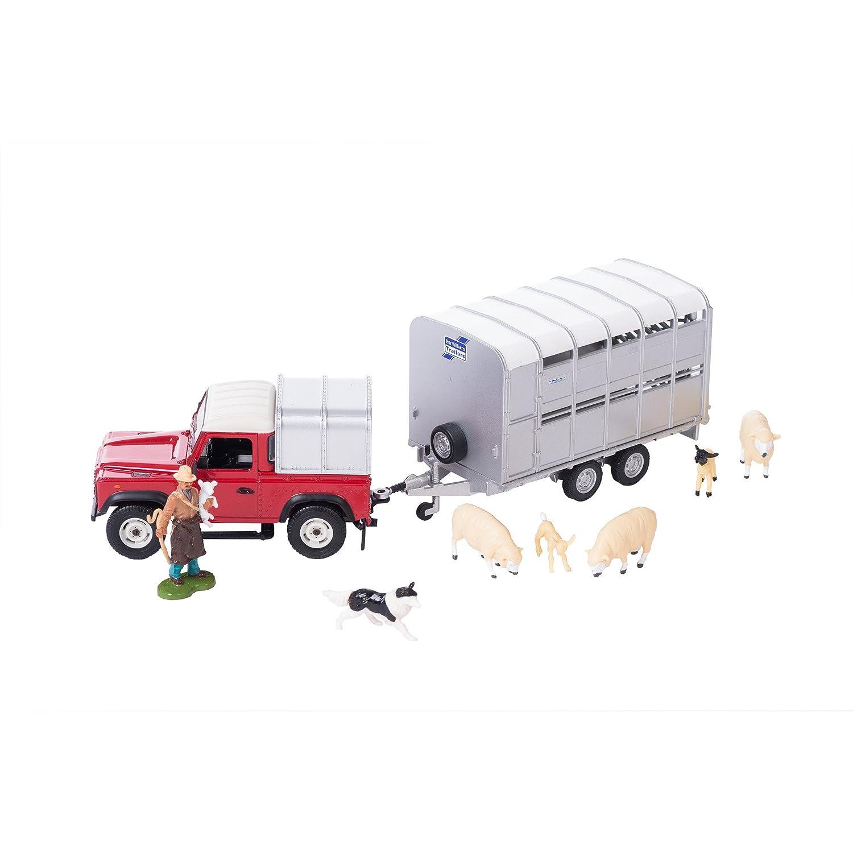Tomy - 43138A1 - Coffret Elevage de Moutons - Véhicule/Remorque/Animaux - Echelle 1/32
