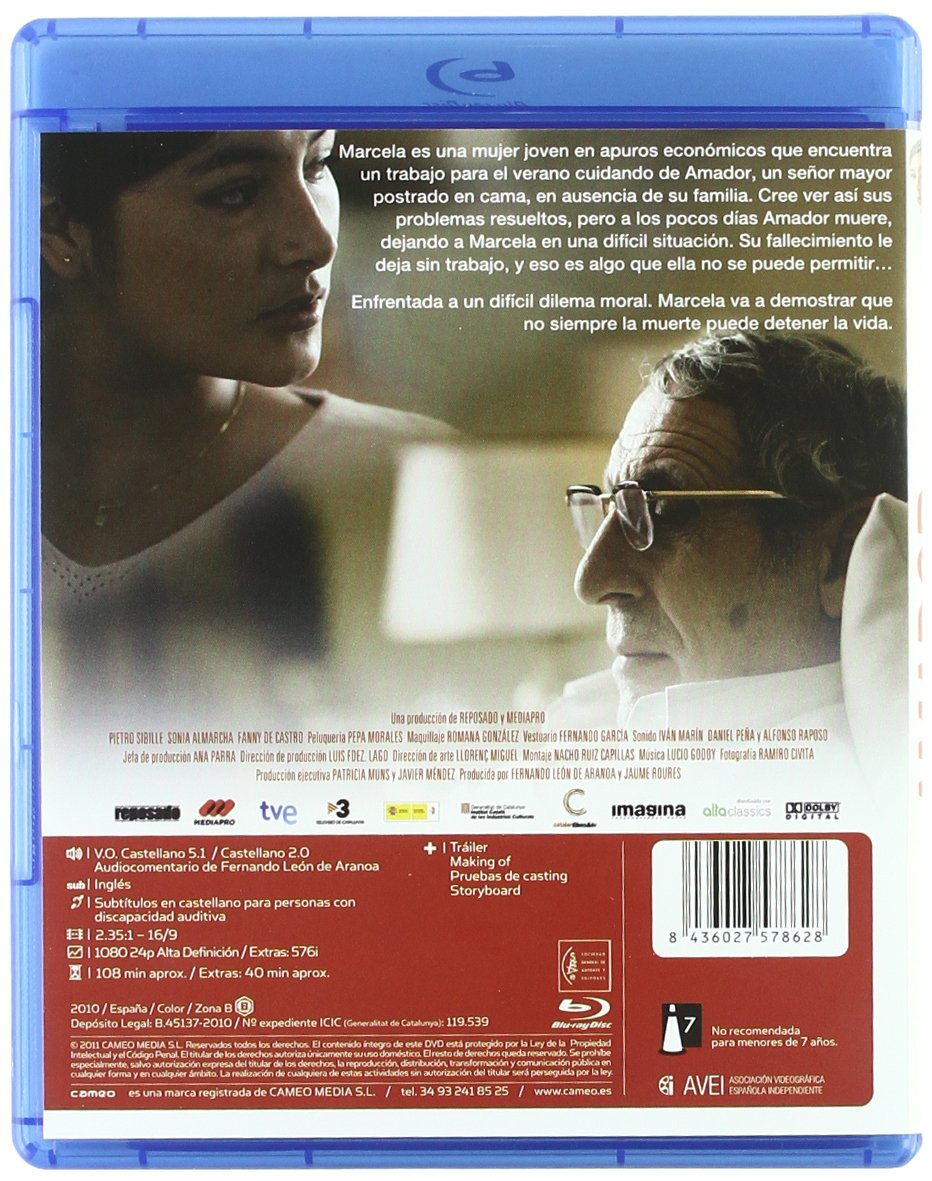 Amazon.com: Amador (2010) [ NON-USA FORMAT, Blu-Ray, Reg.B ...