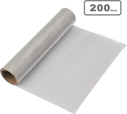 30x20cm Acier Inoxydable Métal Tissu Fil Tissu Filtre 0,250 mm 250µm