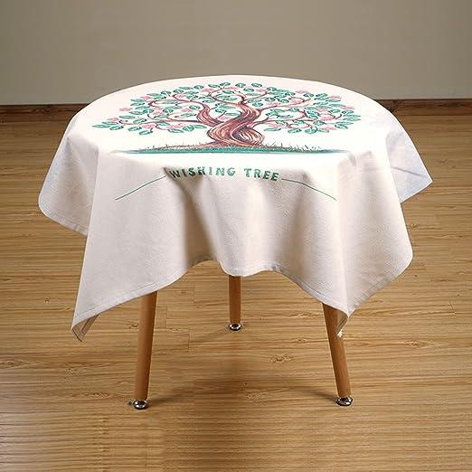 Mantel Europeo Lino Mantel, Literatura Y Arte Mantel Redondo Plaza ...