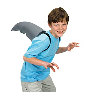 Fun Express - Shark Fin Accessory - Apparel Accessories - Costume Accessories - Costume Props - 1 Piece