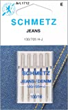 Euro-Notions 1712Jean & Denim Machine Needles-Size 16/100 5/Pkg