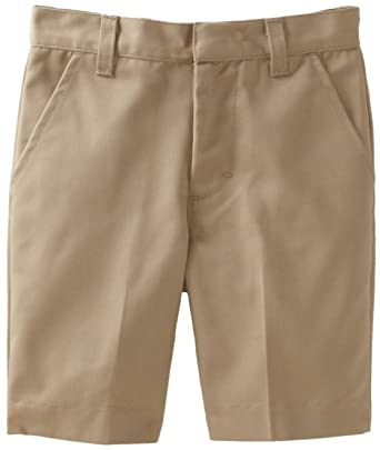 Amazon.com: Classroom Big Boys' Uniform Husky Flat Front Short ...