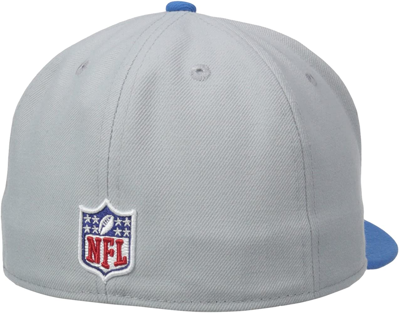 6cd58100 NFL Mens Detroit Lions On Field 5950 White Game Cap By New Era