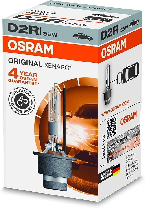 OSRAM XENARC ORIGINAL D2R HID, lámpara de xenón, lámpara de ...