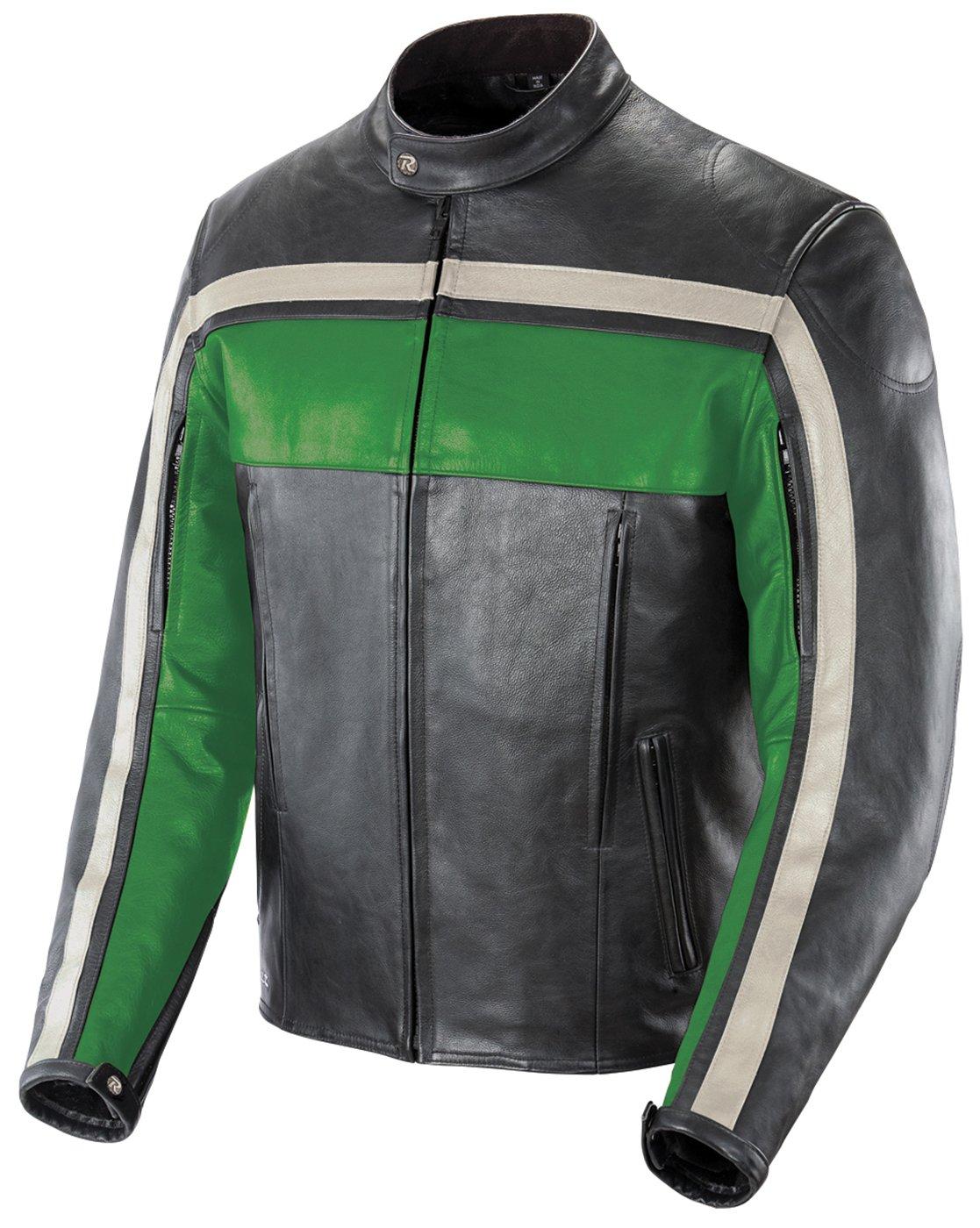 Amazon.com: Joe Rocket Old School Men's Leather Motorcycle Jacket ...