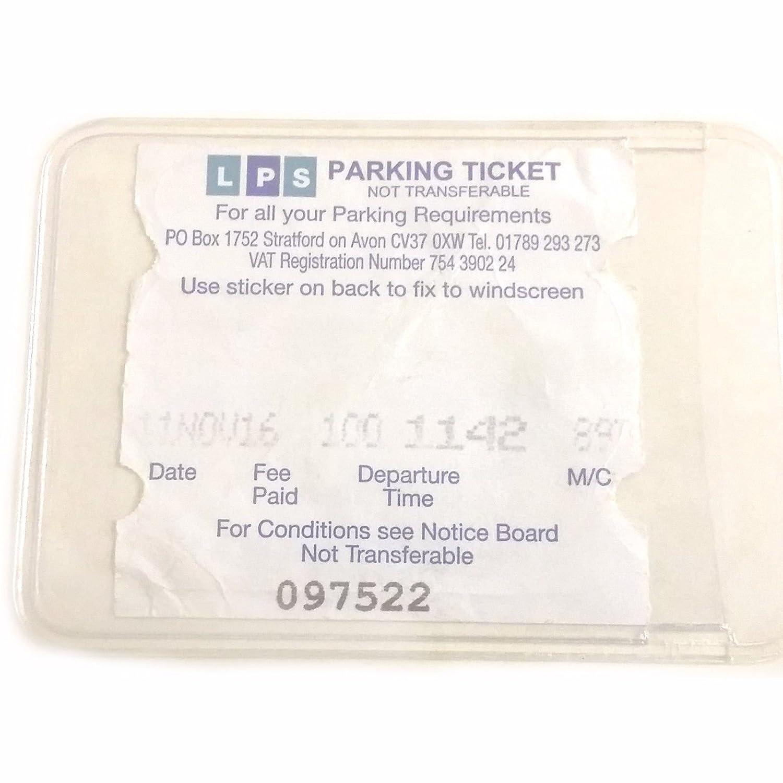 Pochette adhésive pour ticket de stationnement à coller sur le pare-brise Family Motoring & Leisure
