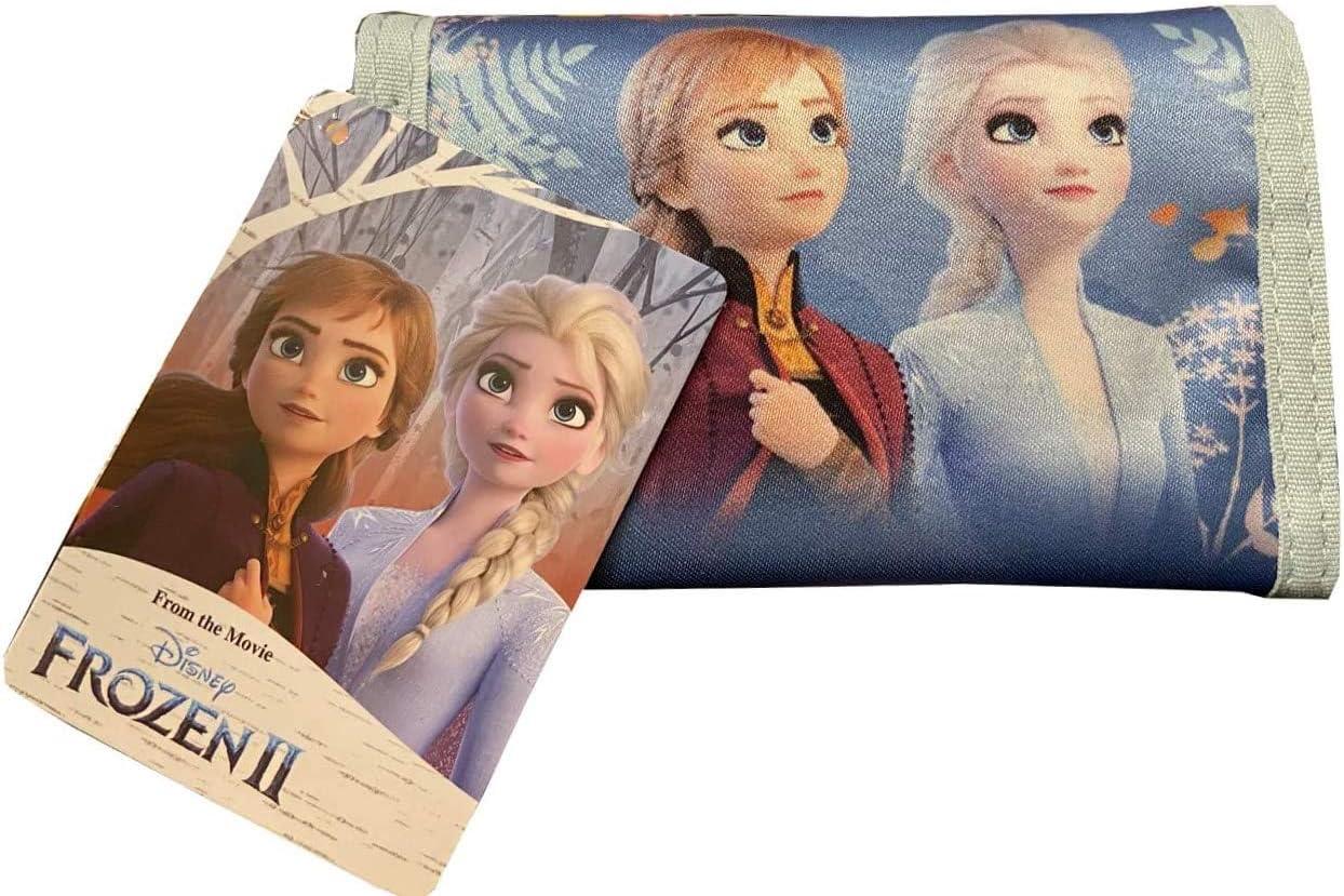 Frozen 2 Brieftasche hellblau