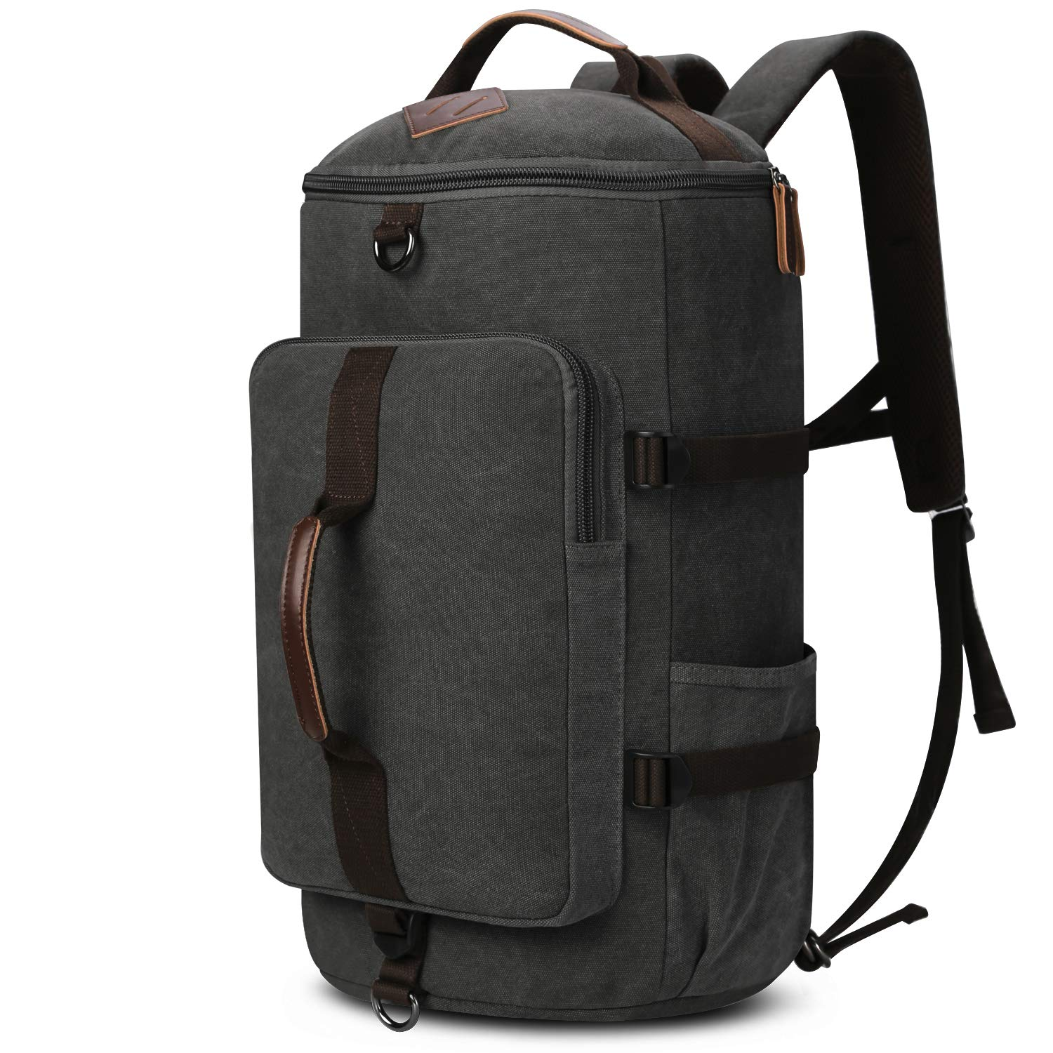 duffle backpack, Yousu Mens Large Canvas